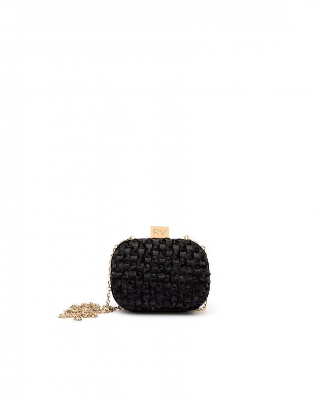 Black clutch Cova
