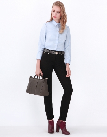 Black pants with 5 pockets