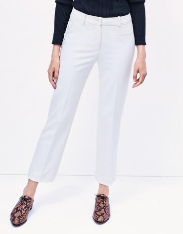 Off white crepe pants