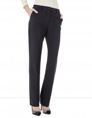 Pantalon crêpé noir