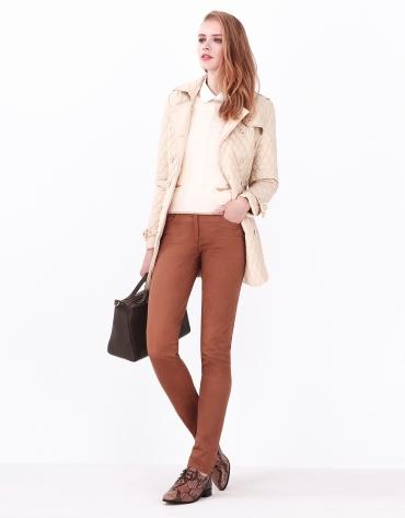 Pantalón 5 bolsillos camel
