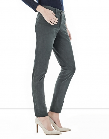 Green pants with 5 pockets