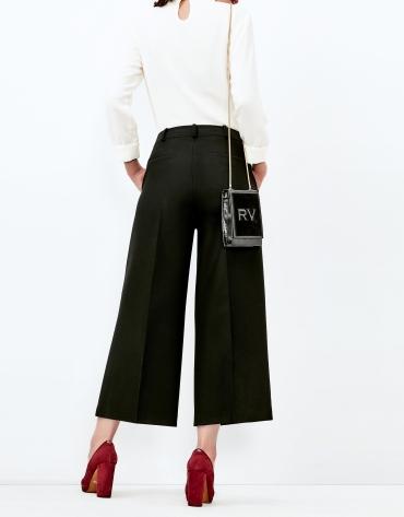 Pantalón culotte negro