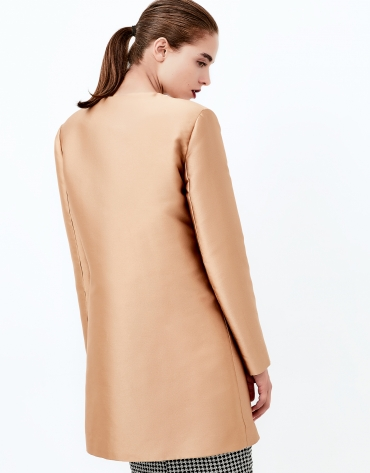 Gold short coat