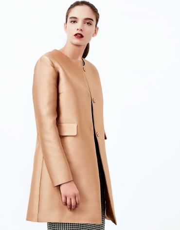 Gold short coat