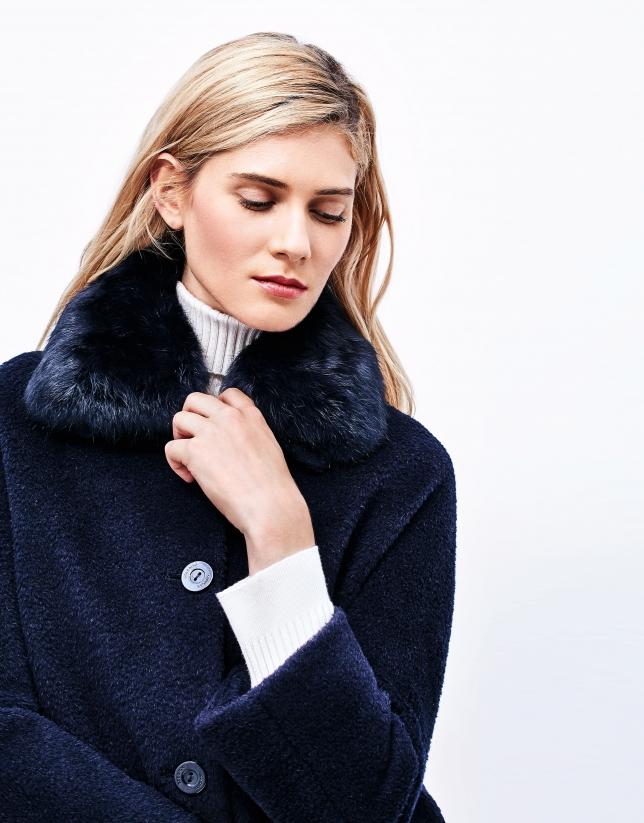 Blue short coat