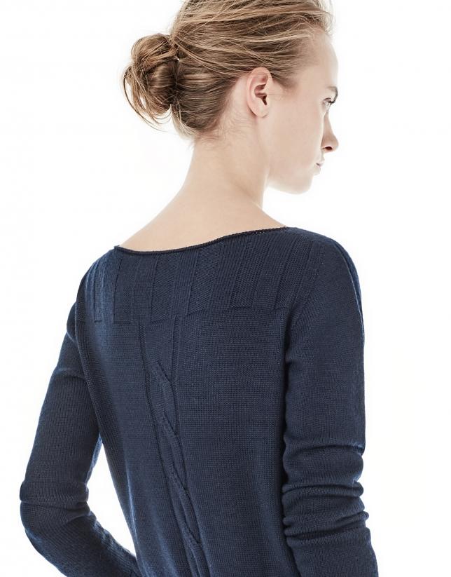 Jersey ochos azul