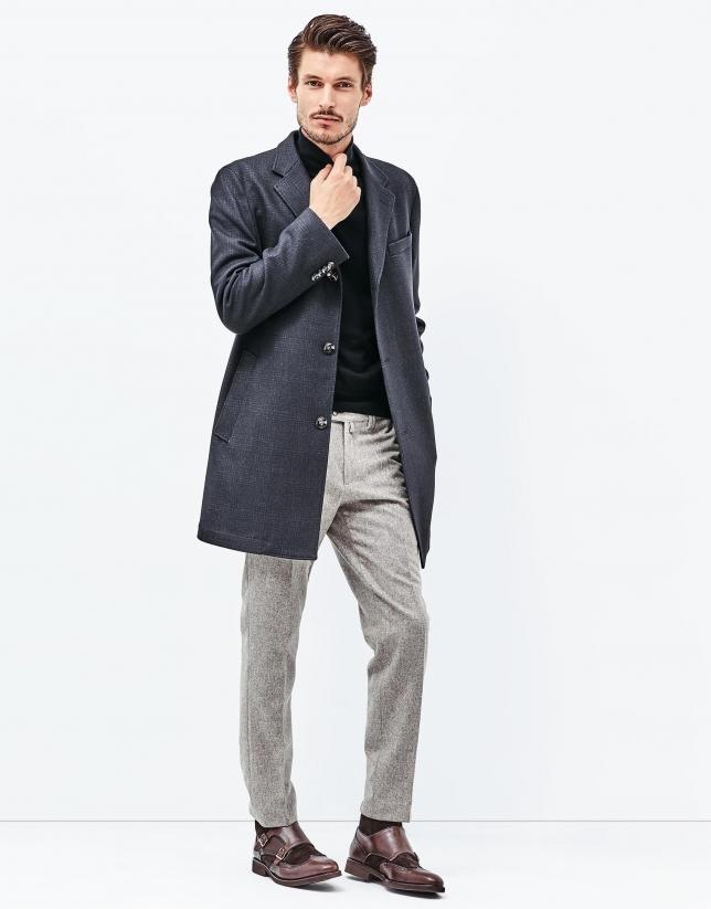 Pantalón franela marrón
