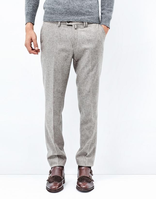 Brown flannel pants