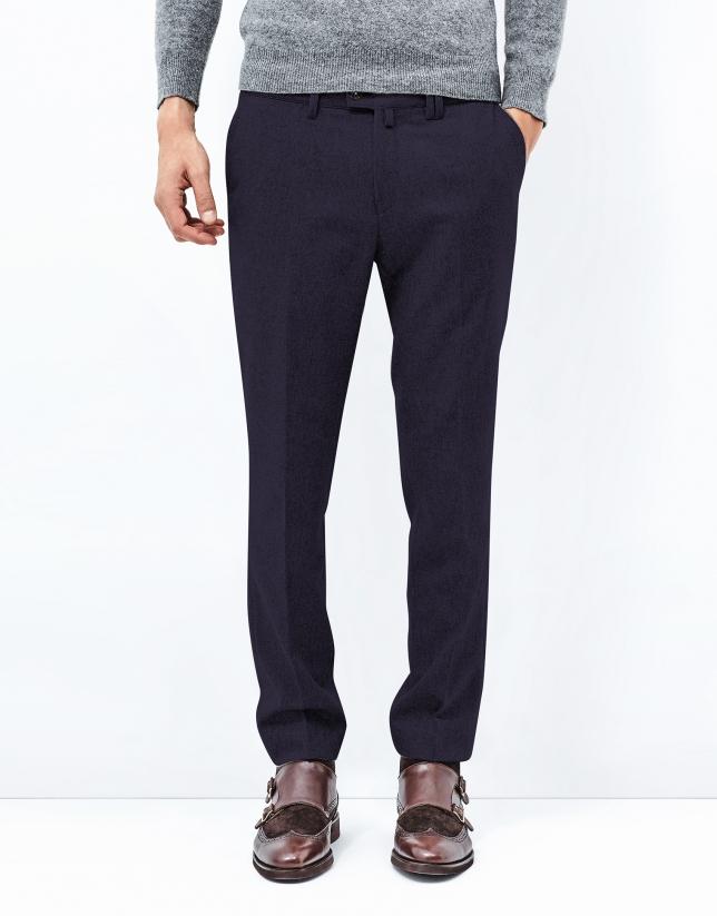 Pantalón franela marino