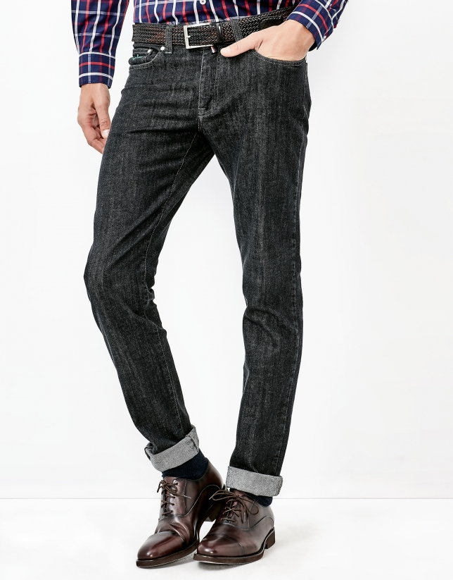 Slim denims