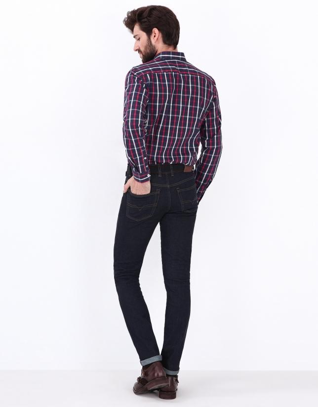 Pantalon en denim regular fit (coupe classique)
