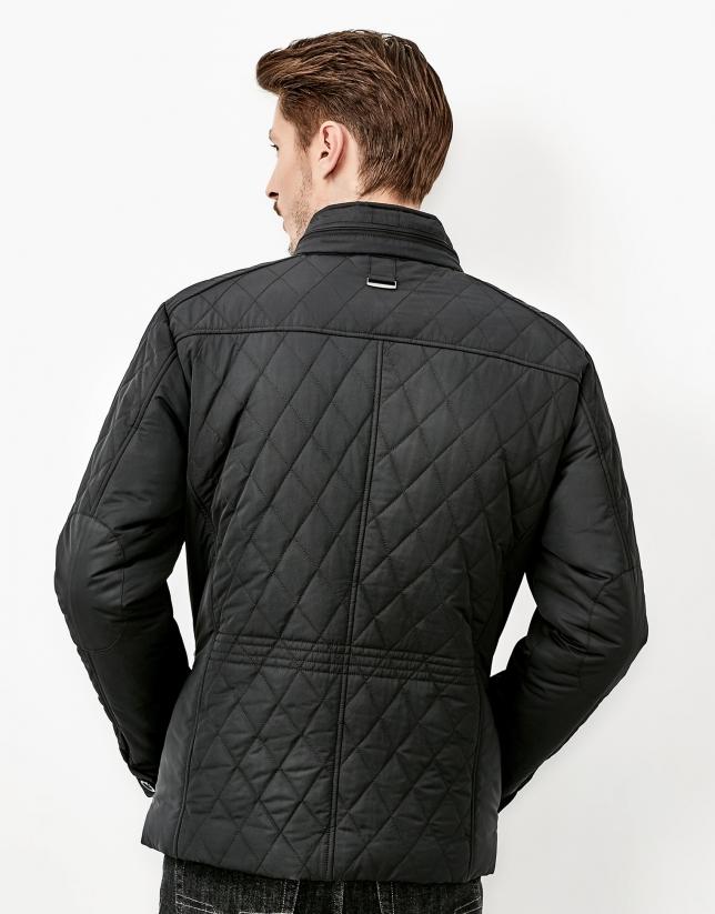 Black husky jacket