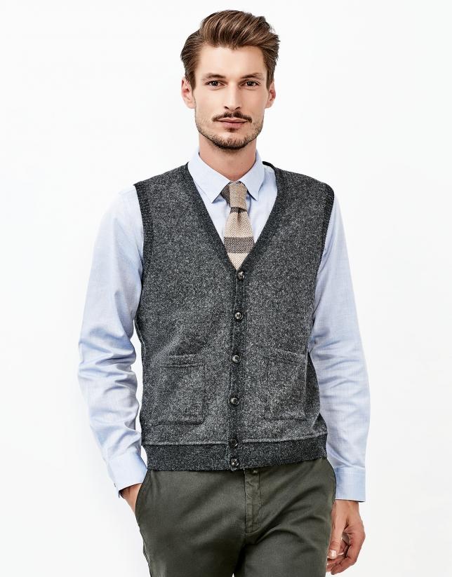 Chaleco gris