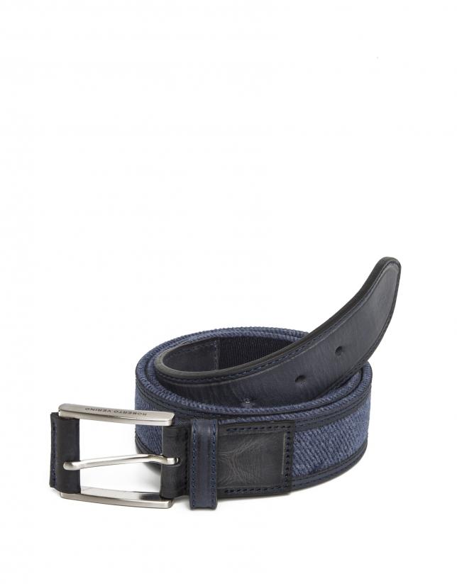 Cinturón combinado azules