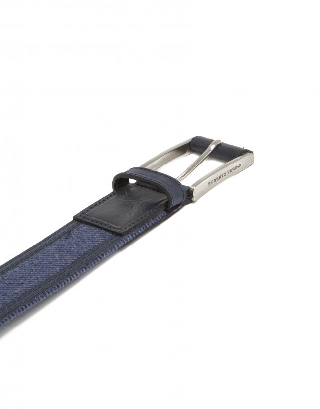 Combination blue belt