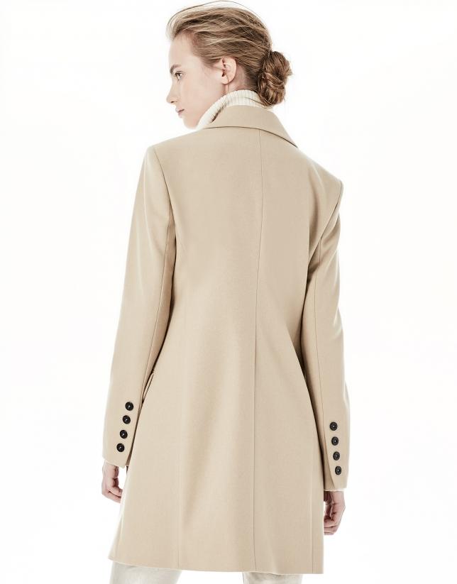 Long beige blazer