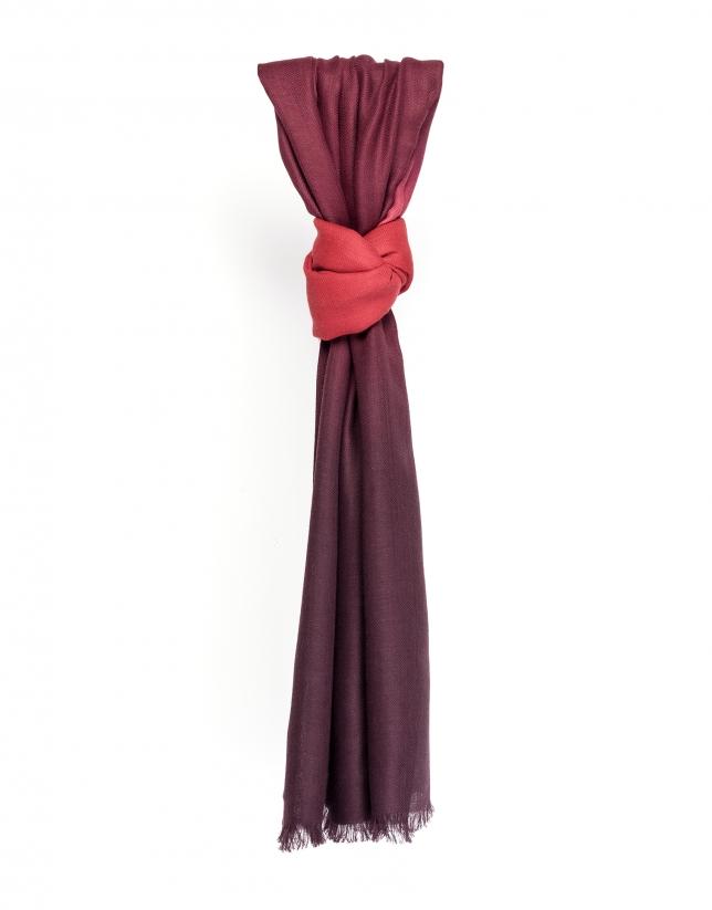 foulard rouge accessoires femme roberto verino. Black Bedroom Furniture Sets. Home Design Ideas