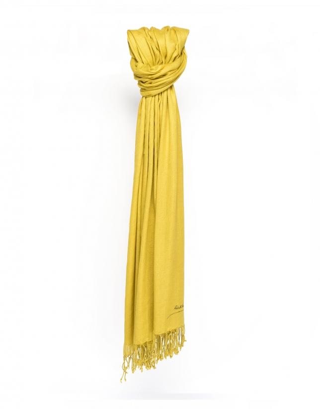 Foulard jaune