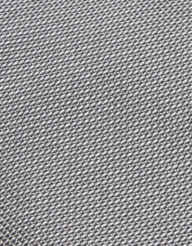 Cravate grise en soie