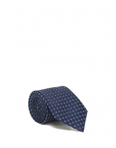 Blue diamond tie
