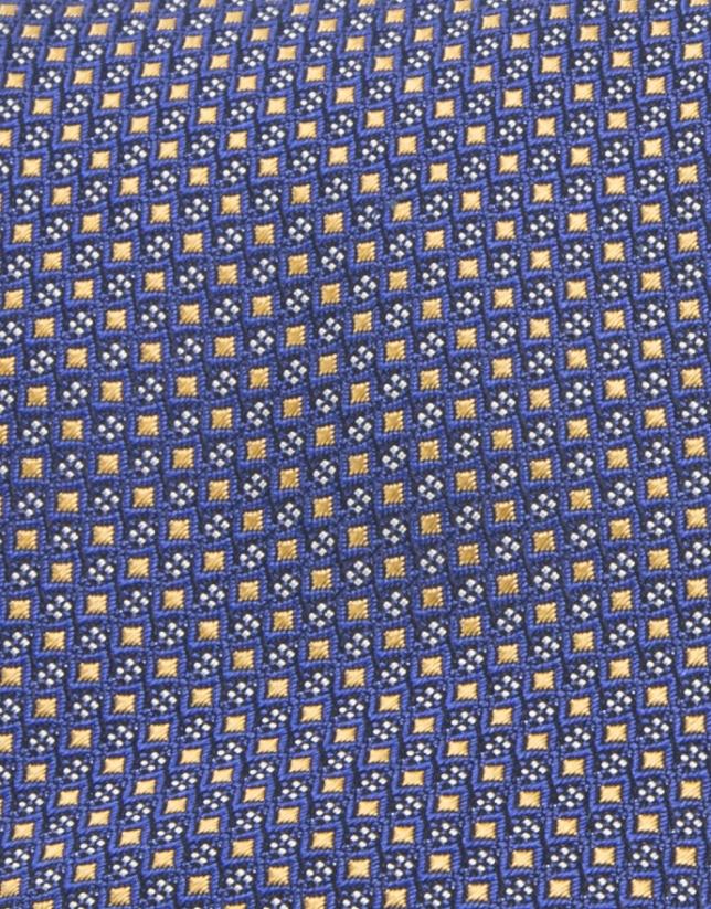Corbata seda amarilla