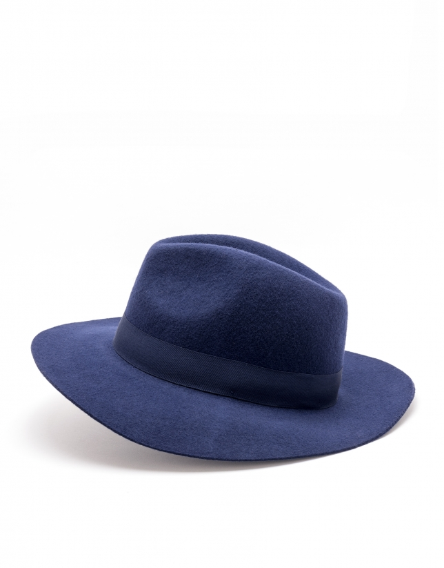 Midnight blue hat