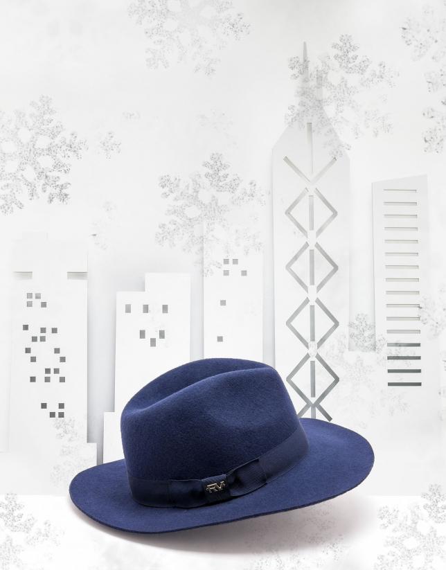 Midnight blue hat