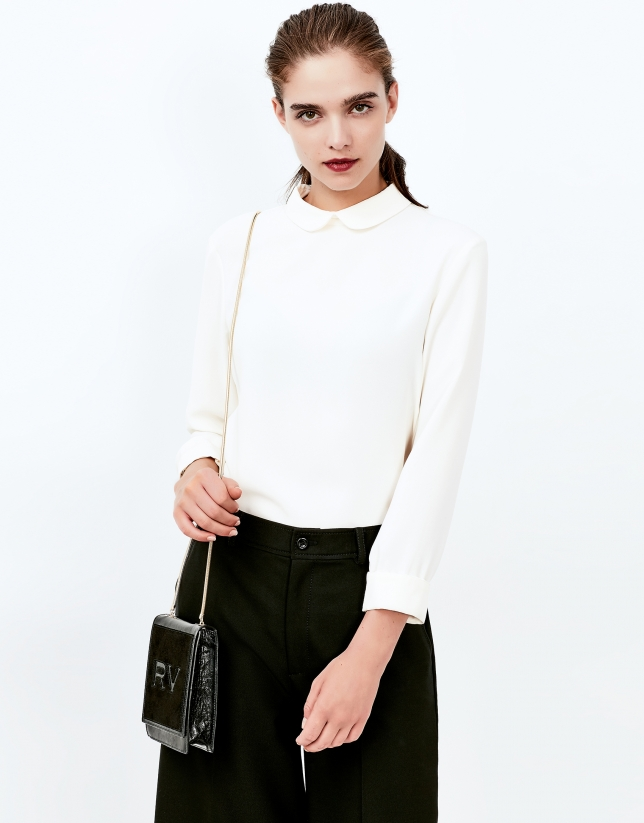 Blusa blanco roto