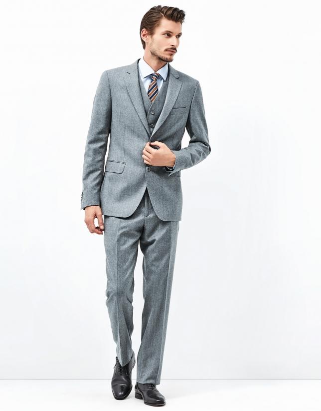 Costume trois pièces gris