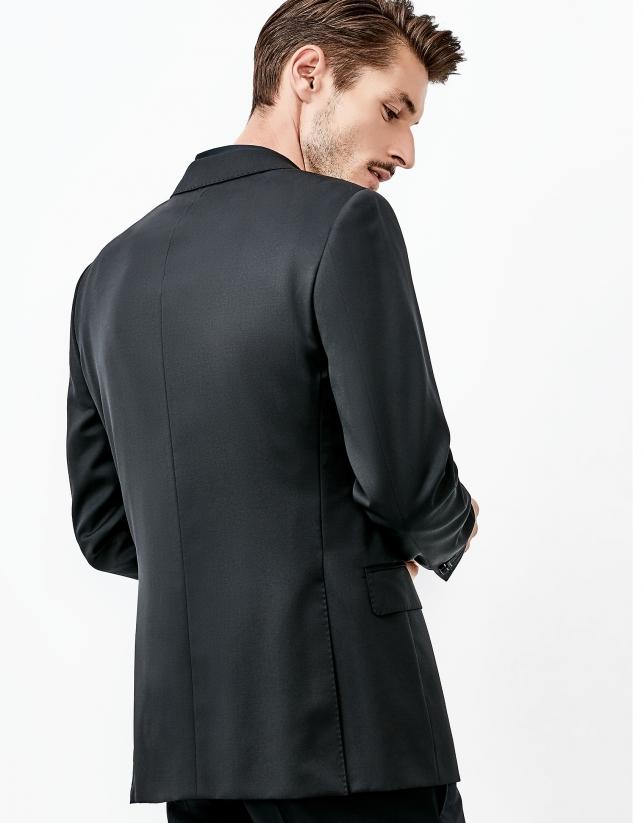 Costume en laine noir
