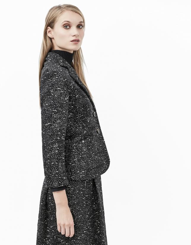 Grey tweed jacket