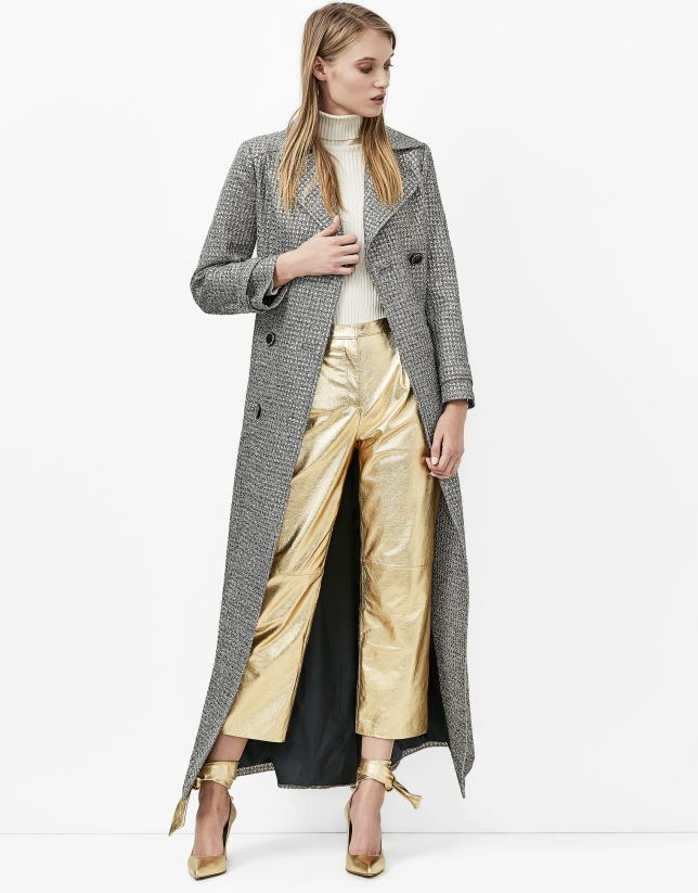 Trench long fantaisie