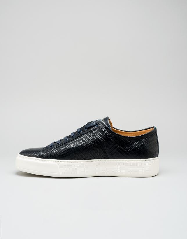 Sneakers bleu foncé