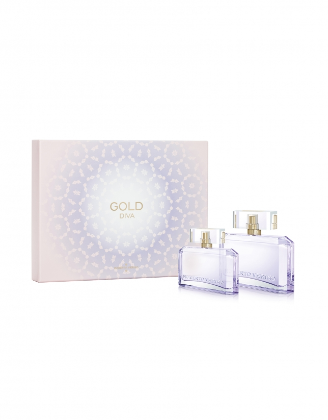 COFFRET LATTICE GOLD DIVA