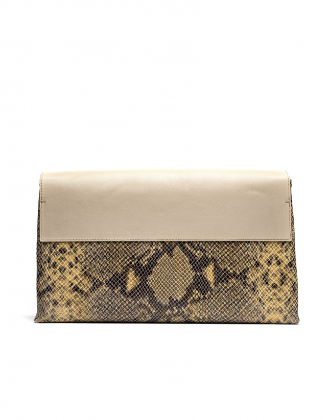 Bolso Messenger Manhattan serpiente