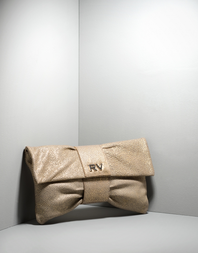 Cannes clutch bag with decoration