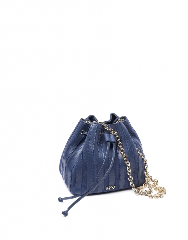 Bouquet Saint Germaine azul