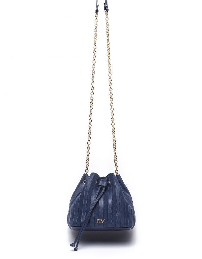 Sac bouquet Saint-Germain bleu