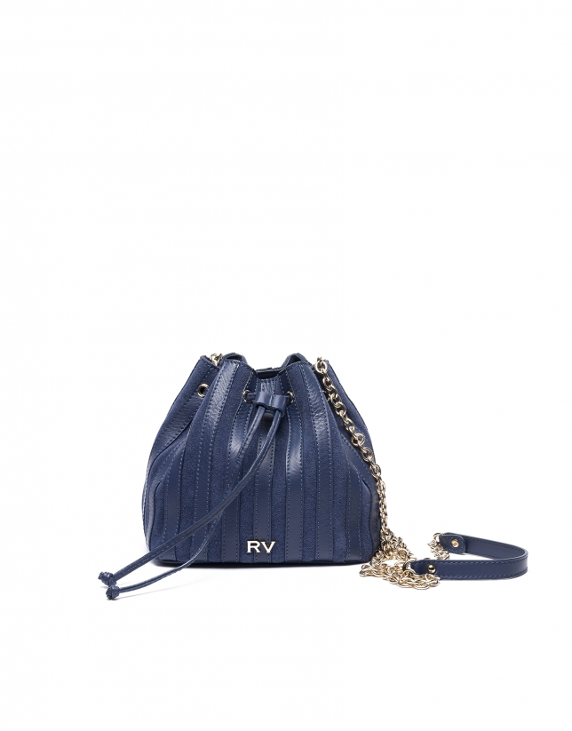 Blue Saint Germaine bouquet bag