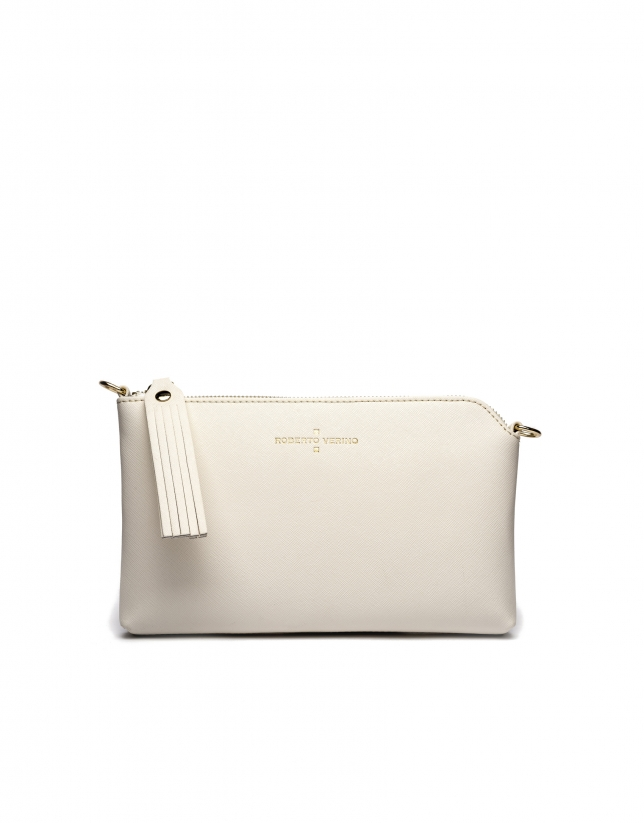 Clutch Lisa Nano blanco