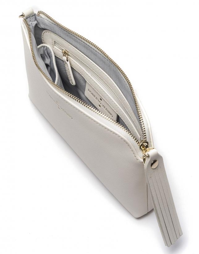 White Nano Lisa clutch