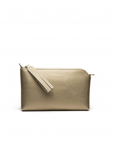 Gold Nano Lisa Clutch