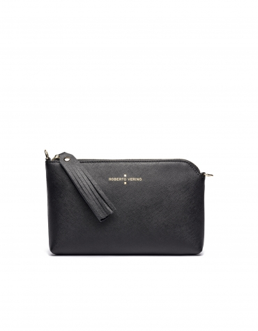 Black Nano Lisa Clutch