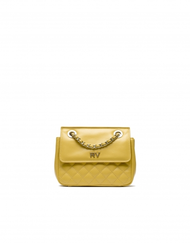 Yellow Ghauri Nano shoulder bag
