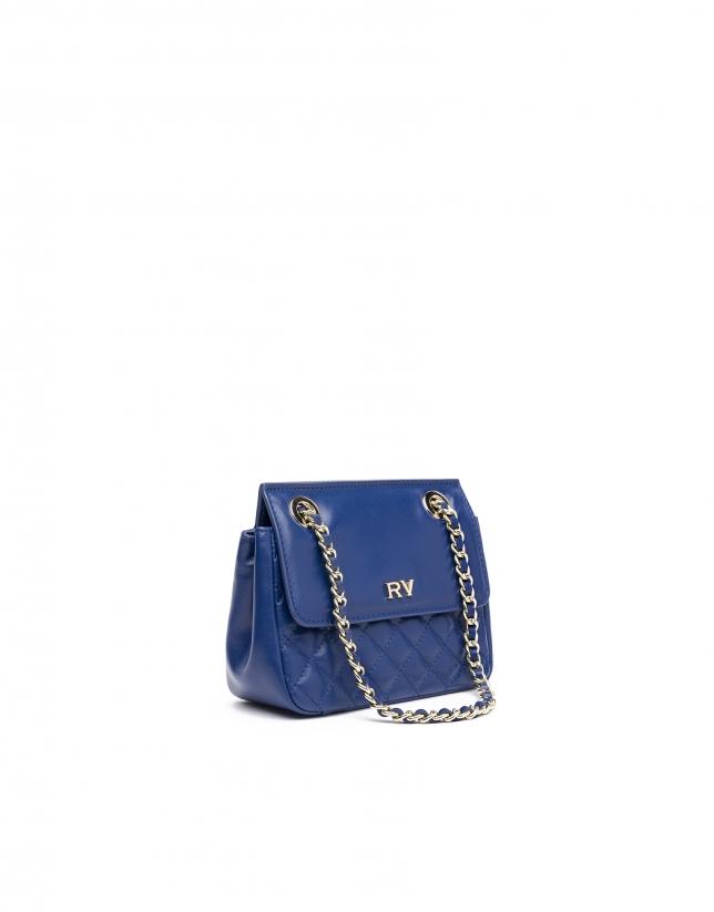 Blue Ghauri Nano shoulder bag