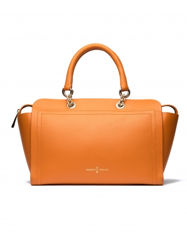 Burnt orange Romeo satchel