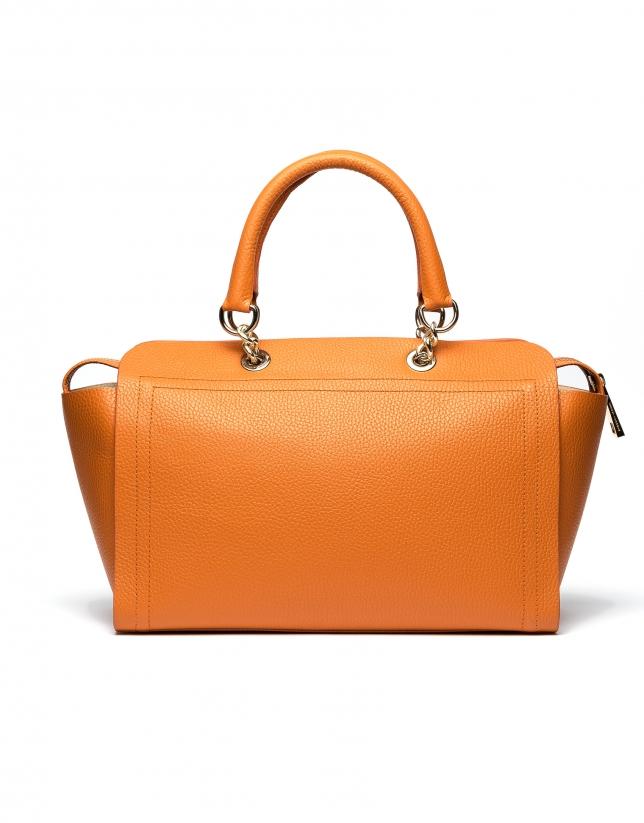 Burnt orange Romeo satchel