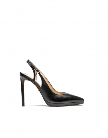 Orleans open heel pumps