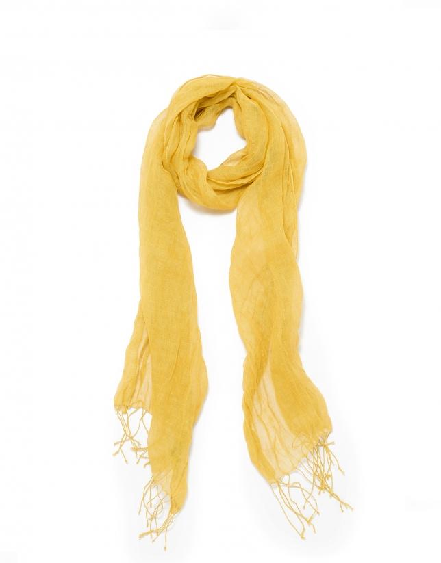Copper-gold scarf